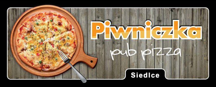 logo pizzeria Piwniczka